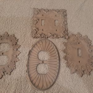 Switch plate covers vintage